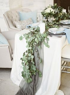 Eucalyptus Garland | photography by http://www.alicialaceyphotography.com/