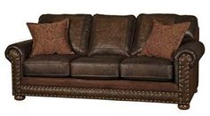 Western Style Sofa 6775 Western Sofas and Loveseats