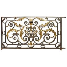 1stdibs.com | Antique Balcony Gate from a Normandy Castle, 1800s