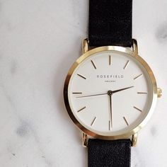 The Gramercy Black, Rosefield Watches