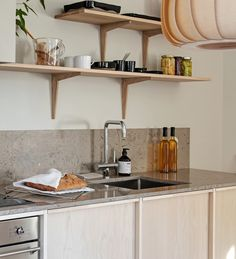 Connected kitchens: when home automation comes into the kitchen - My Romodel Wooden Countertops, Kitchen Countertops, Kitchen Dining, Kitchen Decor, Scandinavian Kitchen, Scandinavian Design, Diy Room Decor, Home Decor, Modern Kitchen Design