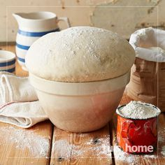 basiese-brooddeeg-WEB Braai Recipes, Cooking Recipes, Eggless Recipes, Cooking Tips, Kos, Mexican Food Recipes, Dessert Recipes, Drink Recipes, Desserts