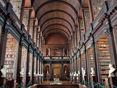 My reading life sits condensed in twenty boxes, waiting to be loaded onto a truck and carted 1,000 miles north. I've always dreamt of a massive home library. Think:Beauty and the Beast.Or a variation of the Long Room. And if … Continued