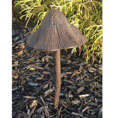 cast iron mushroom hose guide garden tool for your home garden decor