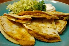 Smoky White Bean Quesadillas | VegWeb.com, The World's Largest Collection of Vegetarian Recipes