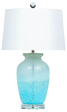 La Jolla Table Lamp, Blue | Designer Collection | One Kings Lane