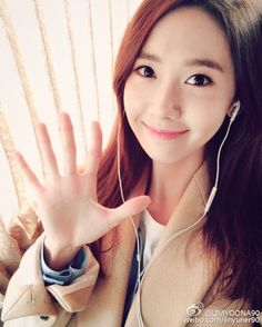 SNSD YoonA greets fans with her lovely photo ~ Wonderful Generation