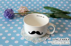 #mustache #couple cup #love #lovecup #lingzakka