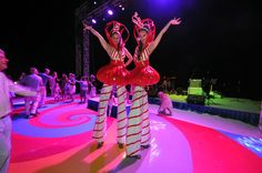 Our Candy Girls on stage