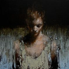 Mark Demsteader was born in 1963 in Manchester where he still lives and works.Although isolated in the picture plane each model seems to live and breathe, their expression and poise conveying a sense of narrative that invites the viewer to ask more questions about them than the artist answers.This immense technical ability is tempered by the natural sensitivity with which he imbues each subject.