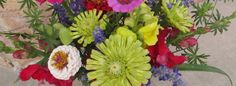 Zinnia and Snapdragon bouquet from my Utah garden-myflowerjournal.com