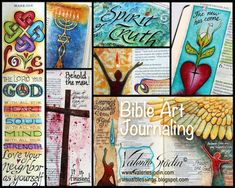 Learn how to achieve no bleed-through or wrinkled pages. In this video below, I walk through my ESV Journaling Bible and share an overview of some Bible Art Journaling techniques I use. Some of them I learned the hard way and would like to pass those helpful tips  on to you. My hope is that it will inspire you to greater creativity as you walk with God.  Tips on Products & Supplies: If I had to pick only a few Bible Art Journaling products, I would choose the black pens and colored pencils…