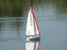 Micro Magic Foncia en modèle réduit Radios, Automobile, Rc Model, Sailboats, Yachts, Pond, Magic, Photos, Ships