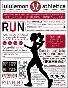 Lululemon Run.
