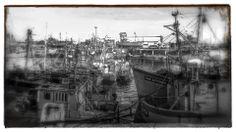 Puerto de Mar del Plata - Provincia de Buenos Aires - Abril de 2014 Paris Skyline, Monochrome, Painting, Travel, Mar Del Plata, Be Nice, Buenos Aires, Viajes, Monochrome Painting