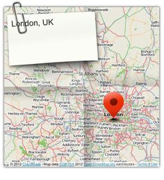 London, UK (courtesy of @Pinstamatic http://pinstamatic.com)
