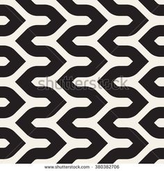 Vector seamless pattern. Modern stylish texture. Repeating geometric background with shifted creative zigzag.