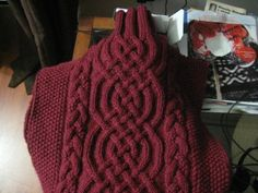 The Barrington Braid! Just the perfect sweater pattern for all of us cable lovers! Cable Knitting Patterns, Knitting Stiches, Knitting Yarn, Knit Patterns, Hand Knitting, Stitch Patterns, Knit Stitches, Knitted Afghans, Knitted Blankets