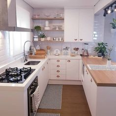 French Home Interior Kitchen Room Design, Home Room Design, Modern Kitchen Design, Home Decor Kitchen, Kitchen Interior, Home Interior Design, Home Kitchens, House Design, Home Interiors And Gifts