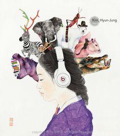 #Künstler #Illustration #Frau #Bild #Art #Kunst #Gallery #Desktop-Hintergrund #Portfolio #OrientalMalereiMalereiKoreaSüdkorea #Hanbok Katze#Illustration #Ausstellung#Kimhyunjung #Hyunjungkim#Hanbok #Art #Artist #Feign #OrientalArt #Fineart#Koreanische Malerei #Korean Chinese #ModerneKunst #Pop-Art#Künstler#OrientalPainting #koreanischeMalerei #Gold #HyunJung #Amusementpark #Insadong #Galerie #Kopfhörer #Musik#Tatterich