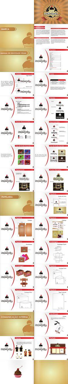 Manual de Identidade Visual Nuestro Cupcake (Acadêmico)