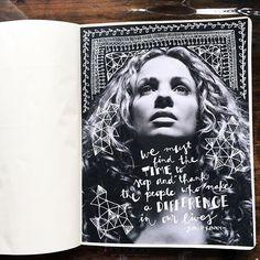 @kahlert   Gratitude   Get Messy Art Journal   Instagram