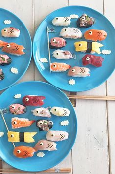 Cafe Food, Food Menu, Kinds Of Sushi, Kids Packed Lunch, Sushi Cake, Japanese Food Art, Creative Food Art, Food Garnishes, Cute Desserts