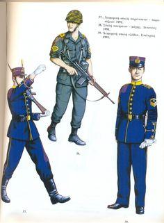 Στολές Ευελπίδων   Στρατιωτική Σχολή Ευελπίδων Military Photos, Military History, Military Dresses, Military Clothing, Army Uniform, Military Uniforms, Hellenic Army, World War One, In Ancient Times