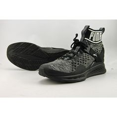 b6cc5d9edeaa PUMA Mens Ignite Evoknit Cross-trainer Shoe Black quiet Shade Black 10 M US