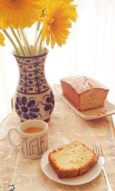Café com bolo de aveia