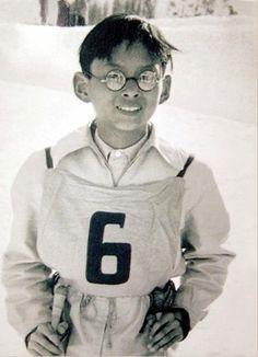 His Majesty King Bhumibol Adulyadej as kid.