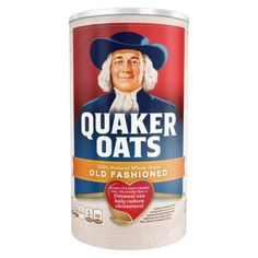 Quaker Oats Heart Healthy Old Fashioned Oats - Granola granola quaker oats recipe Quaker Oats Recipes, Oatmeal Recipes, Oatmeal Squares, Oatmeal Bars, Whole Grain Foods, Chocolate Oatmeal, Chocolate Porridge, Chocolate Chips, Grilled Eggplant