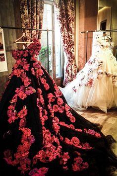 Dolce   Gabbana Alta Moda Spring 2014 - Backstage Fashion Moda f7868f1642e