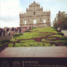 Ruins of st. Paul , macau, HK