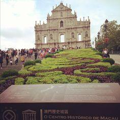 Ruins of st. Paul , macau, HK