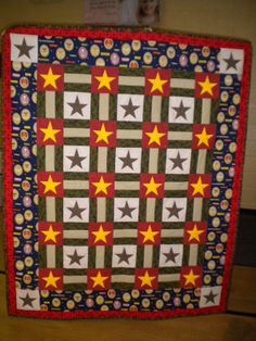 Care Bear Design: Eagle Boy Scout Quilt in another color version