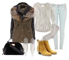 """Cold"" by misscriss ❤ liked on Polyvore featuring River Island, H&M, Marc by Marc Jacobs and Acne Studios"