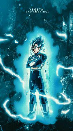 Vegeta, the Saiyan prince Dragon Ball Gt, Fan Art, Dbz Wallpapers, Hd Backgrounds, Dragons, Goku Y Vegeta, Manga Dragon, Super Anime, Z Arts