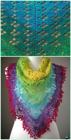 Crochet Butterfly Stitch Prayer Shawl Free Pattern - Crochet Butterfly Stitch Free Patterns