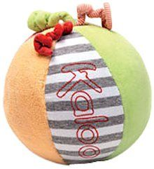 Kaloo Bliss Multicolor Ball With Rattle. Available at OurPamperedHome.com