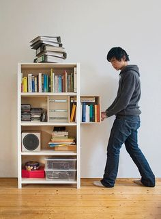 """""""Growing Cabinet"""" by German industrial designer Yi-Cong Lu... literally speaking, it's a living object"""