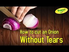 Onions Cutting Process without getting any tears or Crying | Cookery Tips & FAQS