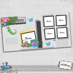 Be Inspired - Double Pages Vol.3 by AADesigns