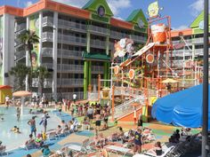 Nick Hotel Orlando, FL  So much fun!