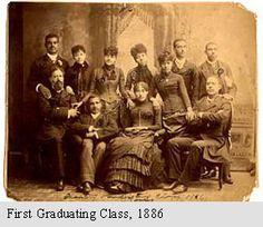 First graduation class of Virginia State University