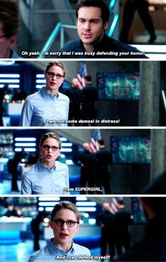 That's my girl! << DAMN STRAIGHT, KARA. SHOW THE WORLD WHAT WE'RE MADE OF
