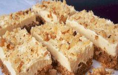 Recept na vynikajúci orechový zákusok: Pre návštevy alebo len tak, ku kávičke! Krispie Treats, Rice Krispies, Banana Bread, Food And Drink, Cheese, Cake, Desserts, Recipes, Chicken
