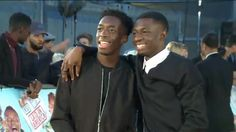 Brotherly love (Tobi & Manny) at Laid in America Premiere