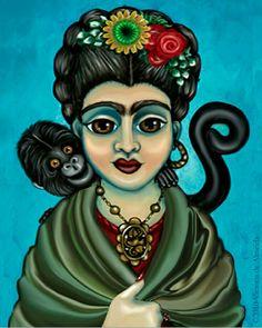Frida Kahlo-Victoria De Almeida