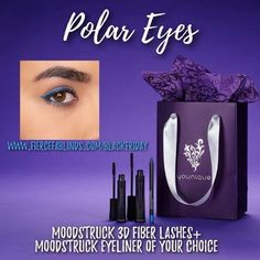Polar eyeliner is back for TODAY only!  Comes with 3D+ Fiber Lash enhancer and any Eyeliner of your choice!